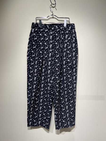 Engineered Garments/Emerson Pant/Floral Jacquard/M/BK【中古】