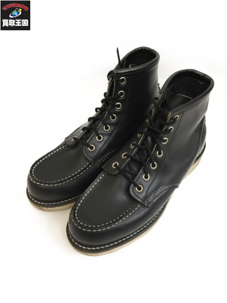 RED WING アイリッシュセッター モック BLK 8170 size7E【中古】