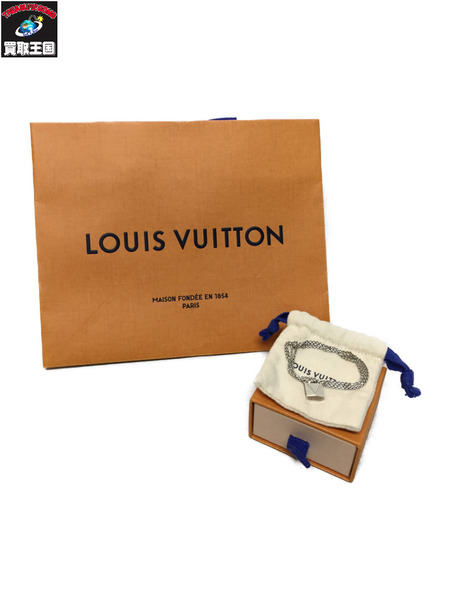 LOUIS VUITTON プレート AG925 ネックレス【中古】