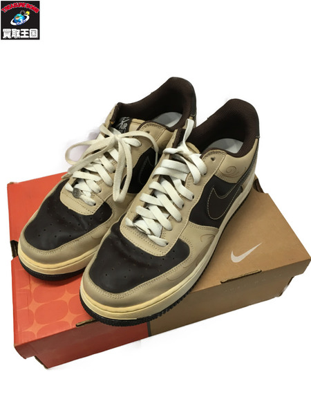 NIKE AIR FORCE 1 307334 221 Mr CARTOON 28.0【中古】