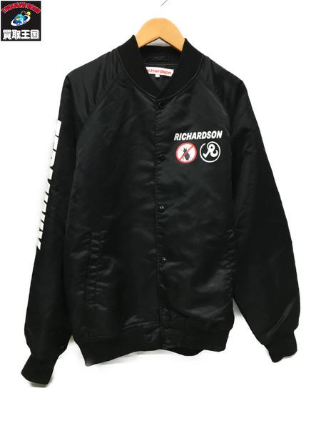 Richardson ナイロンブルゾンジャケット(XL)黒【中古】[▼]