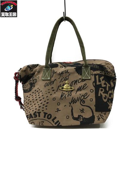 Vivienne Westwood アングロマニア キャンバスバッグ【中古】