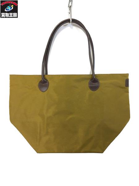 Herve Chapelier ナイロントートバッグ からし色[▼]:買取王国 店
