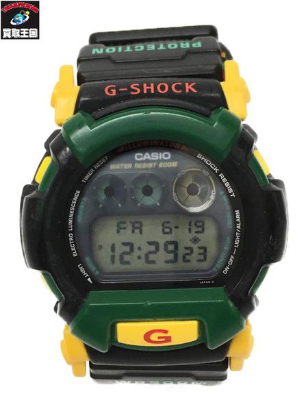 CASIO G-SHOCK/ザイマカモデル/ラスタカラー/DW-002  本体のみ【中古】