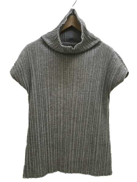 PLEATS PLEASE ISSEYMIYAKE 17AW N/S タートルネックカットソー サイズ3【中古】
