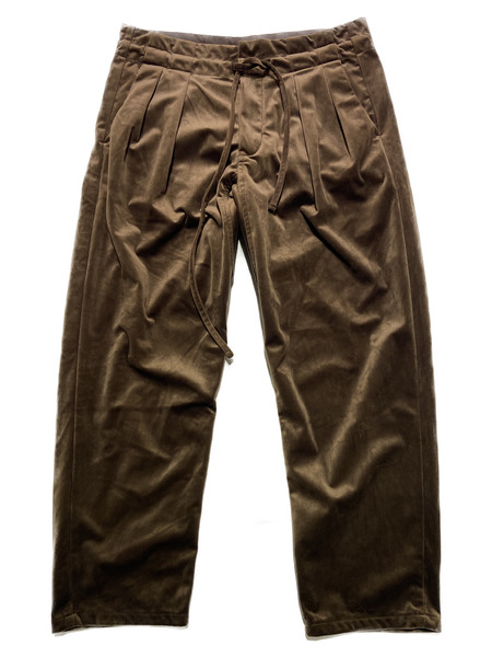 MONITALY/Drop Crotch Pants/S/ブラウン【中古】