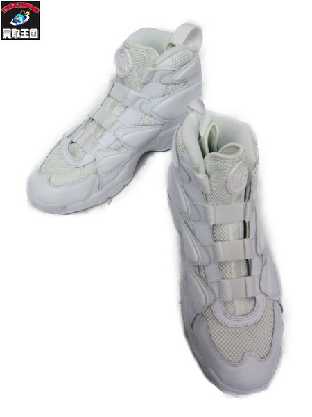 NIKE AIR MAX2 UPTEMPO TRIPLE WHITE 28.0cm【中古】