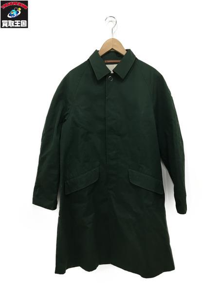 Scye Ventile Overcoat Green 36【中古】