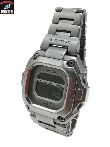 CASIO G-SHOCK MR-G メタルバンド クォーツ腕時計 MRG-110T シルバー【中古】