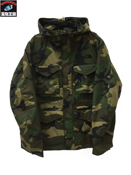 THE NORTH FACE PANTHER JACKET カモフラ L NS15107【中古】