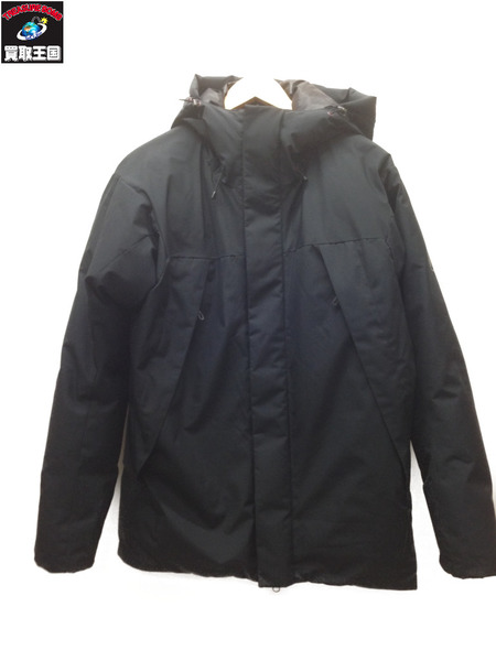 Mammut Crater SO Thermo Hooded Jacket Men (L) ブラック【中古】