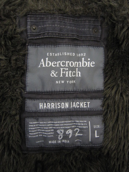 Abercrombie Fitch 内ボアジャケットfvybgmY76I