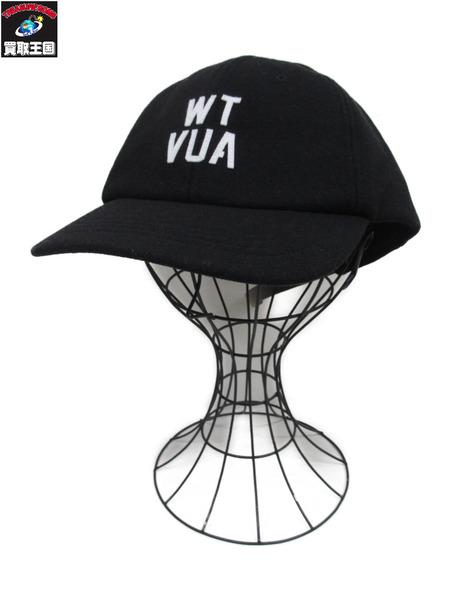 WTAPS/T-6L 02 CAP COPO TWILL/キャップ/黒【中古】