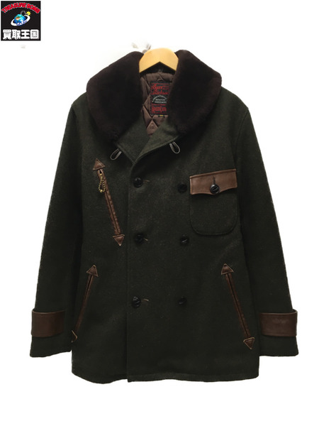 Buzz Rickson's AVIATION ASSOCIATES/ウールジャケット カーキ 36【中古】
