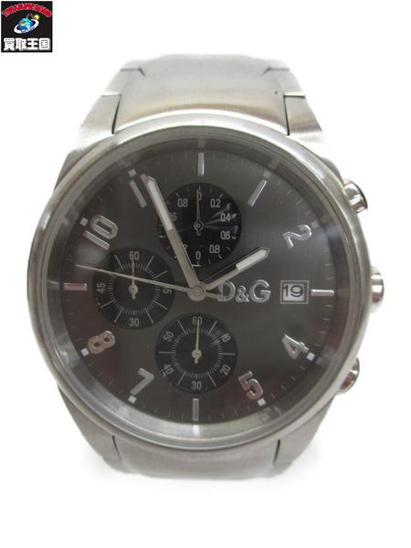 D&G クロノグラフ 腕時計【中古】