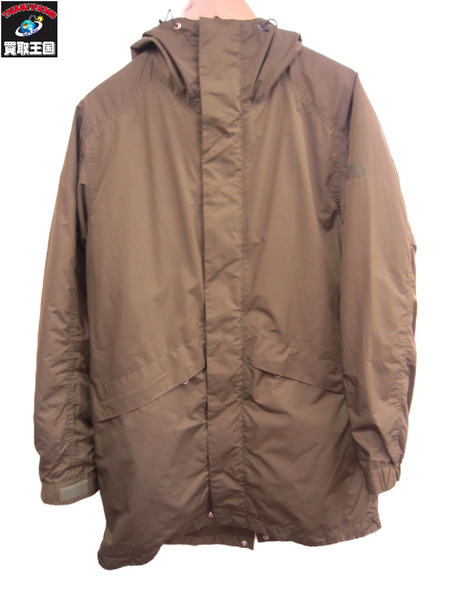 THENORTHFACE Detachable Lining Field Coatパープルレーベル sizeM【中古】