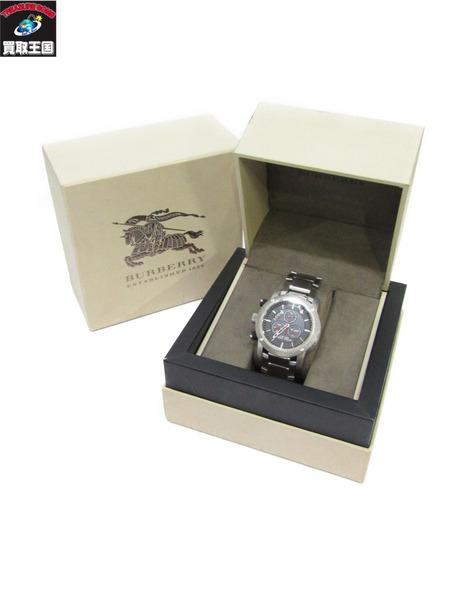 BURBERRY 腕時計 クロノグラフ BU7702 バーバリー クォーツ メンズ【中古】
