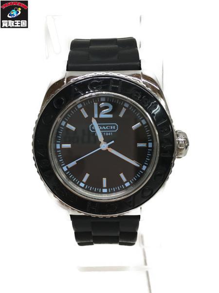 COACH 腕時計 ラバーベルト【中古】