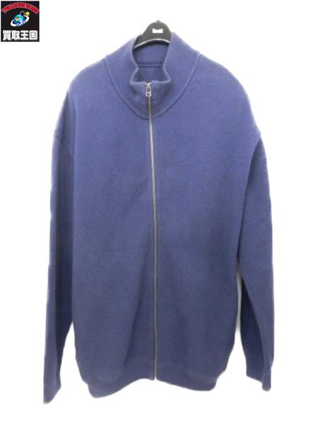 高価値セリー crepuscule Moss Stitch Zip Cardigan/鹿の子ジップカーディガン 3 紫【】[▼], Blue in Green af1eff4d