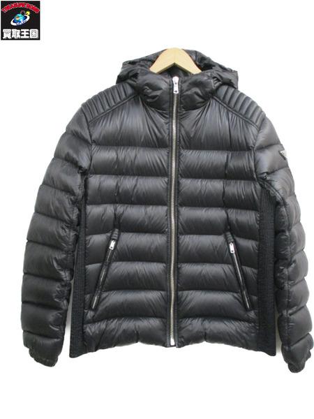 PRADA SGA654 フーデッド ダウンジャケット(52)黒【中古】
