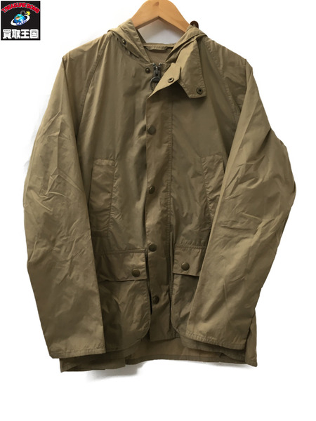 Barbour BARBOUR HOODED SL BEDALE NYLON 36 ベージュ【中古】