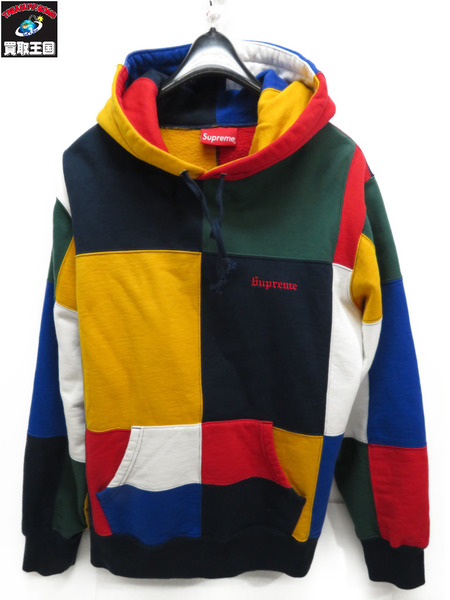 Supreme PATCHWORK HOODED (M)17AW【中古】[値下]