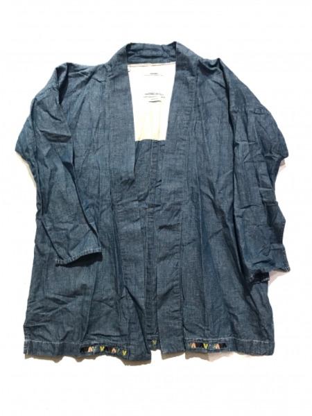 TAKAHIRO MIYASHITA The SoloIst. haori shirts SIZE:48【中古】[▼]