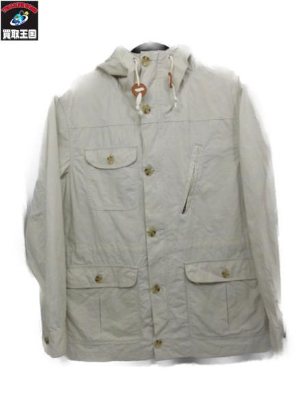 Battenwear TSP2/Travel Shell Parka/コットンマウンテンパーカー M アイボリー【中古】