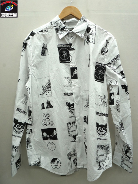 Fucking Awesome/ファッキングオーサム/CUT OUTS DRESS SHIRT/ドレスシャツ/XL【中古】[値下]