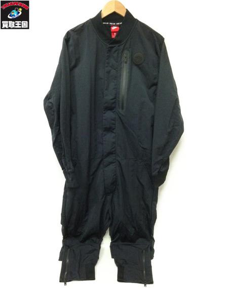 NIKE オールインワン ツナギ ジャンプスーツ (L) 黒【中古】