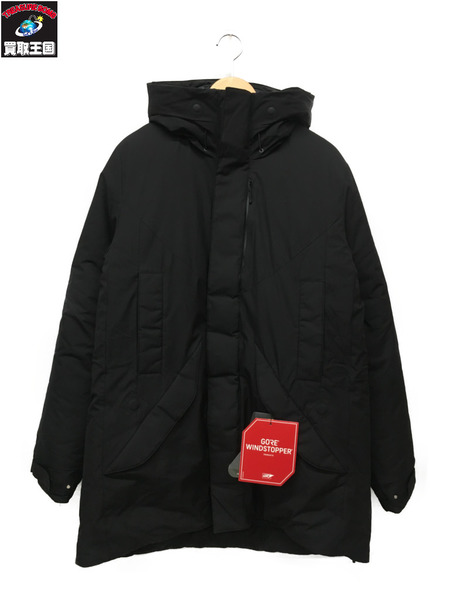新品未使用 GOLDWIN 4WAY HOODED DOWN COAT 黒 (L)【中古】