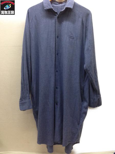Dulcamara ネルロングシャツ (1) ネイビー【中古】