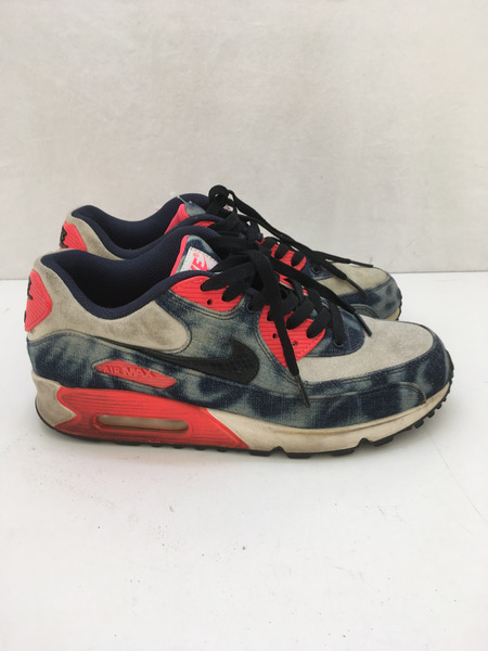 Air Max 90 Dnm Qs Bleached Denim Nike 700875 400