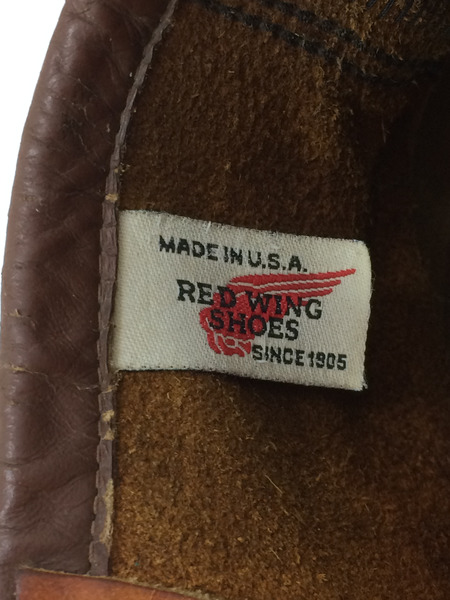 レッドウィング RED WING 刺繍羽タグ アイリッシュセッター モックトゥ8 1 2SVMpUz