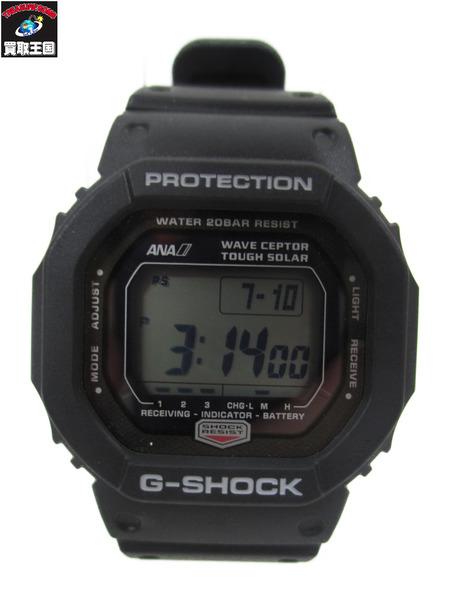 G-SHOCK×ANA GW-5600J-1JFタフソーラー腕時計【中古】
