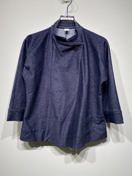 Y's/スタンドカラージャケット/2/インディゴ【中古】