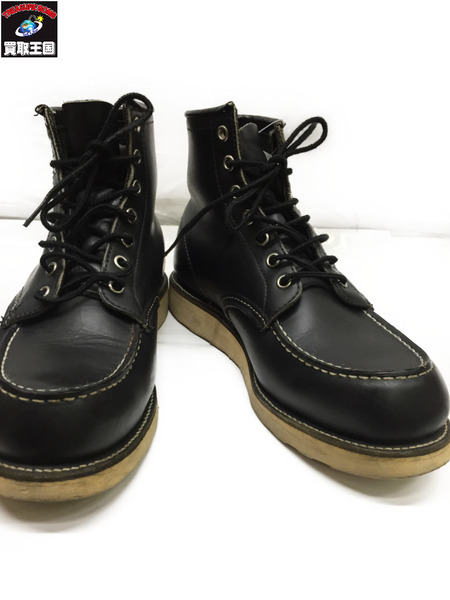 RED WING 8130 セッター モックトゥ 8 1/2 黒【中古】