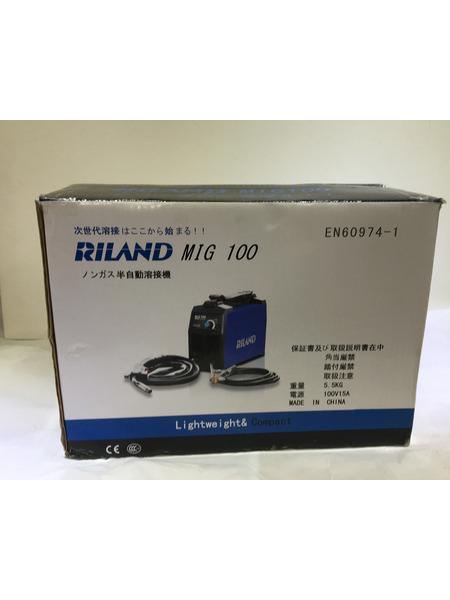 RILAND インバーター 半自動溶接機 MIG100【中古】