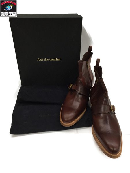 foot the coacher ジップアップブーツ (8.5)【中古】[▼]