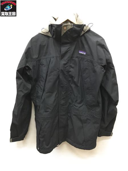 patagonia ストームジャケット (XS) ブラック【中古】[▼]