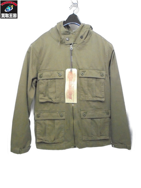 STEVENSON OVERALL CO. Paramarine PM1 ヘンボーンジャケット サイズ38【中古】