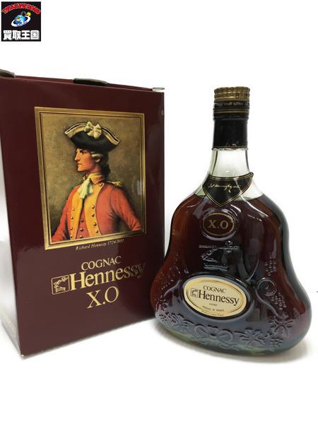 Hennessy ヘネシー XO グリーンボトル 金キャップ 700ml 40度【中古】