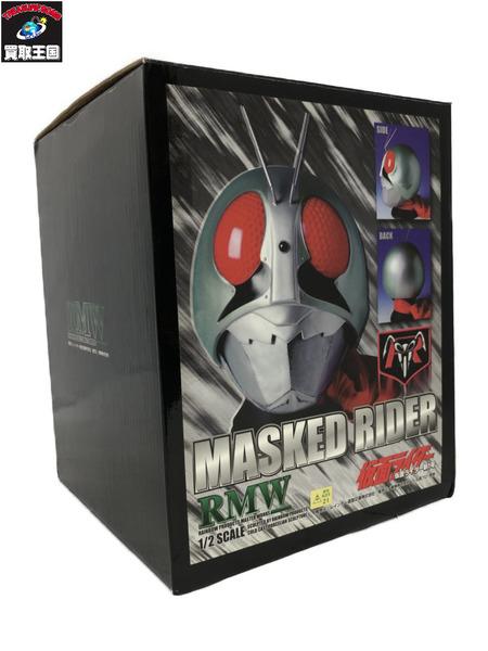 日本製 RMW 仮面ライダー新1号マスク 新作からSALEアイテム等お得な商品 満載 1 2スケール 中古