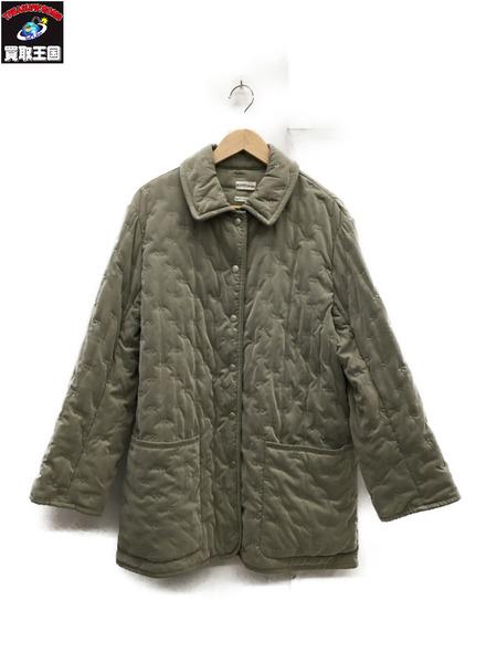 HERMES 期間限定特別価格 エルメス パドック 刺繍 中綿コート 38 中古 期間限定特価品