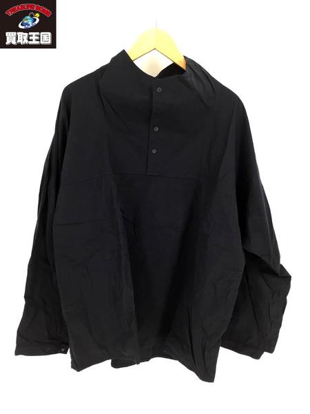YAECA スタンドネックプルオーバージャケット 紺 中古 限定特価 大決算セール
