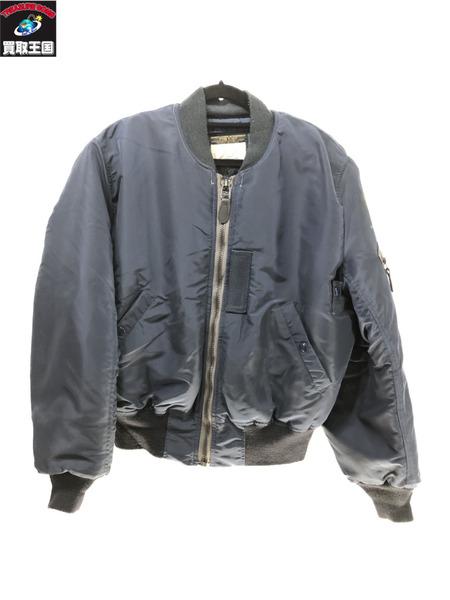 THE REAL McCOY'S フライトジャケット 国内在庫 B15-C size:38 ザ マッコイズ ラッピング無料 ブルー系 中古 リアル