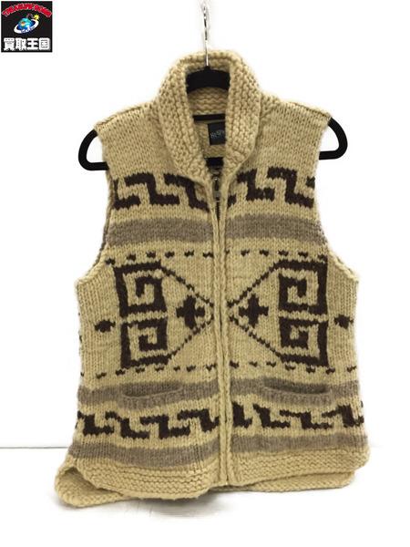 人気カラーの South2 West8 Canadian Sweater カウチンニットベスト size, Living Mahoroba e875fbb7