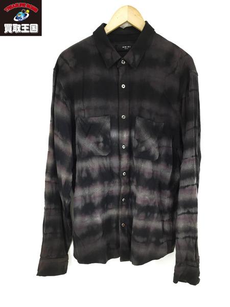 AMIRI Tie 販売期間 限定のお得なタイムセール Dye 中古 贈り物 Shirt M