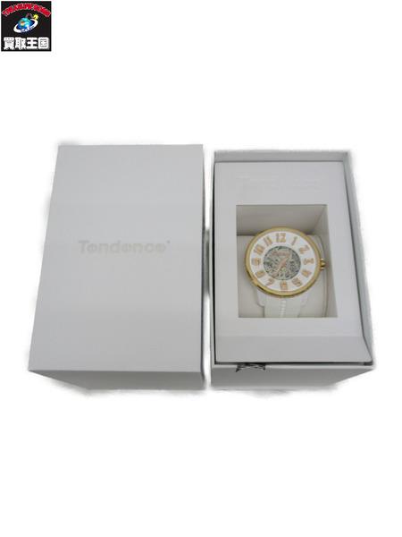 販売期間 限定のお得なタイムセール Tendence 自動巻き 贈物 スポーツスケルトン TG491004 中古
