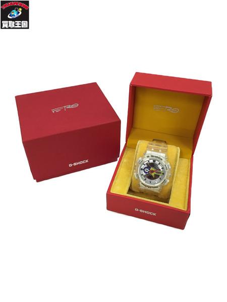 G-SHOCK×ASAP Ferg 海外輸入 GA-110RG デジアナ 評価 クリア 中古 腕時計